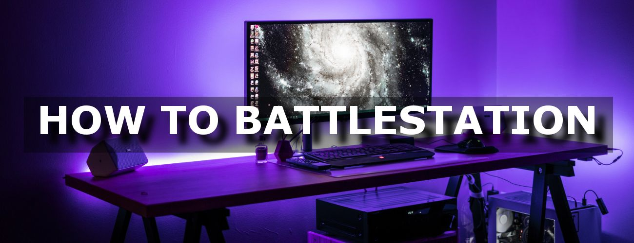 How To Battlestation Purple Computer Setup
